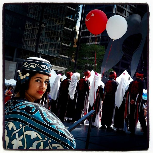 Um, better not miss your cue ... at 12th Annual Turkish Festival in Daley Plaza, Chicago. Check This Out Taking Photos Costume Dance Storytelling Documentary Photojournalism Turkey Turkish Woman