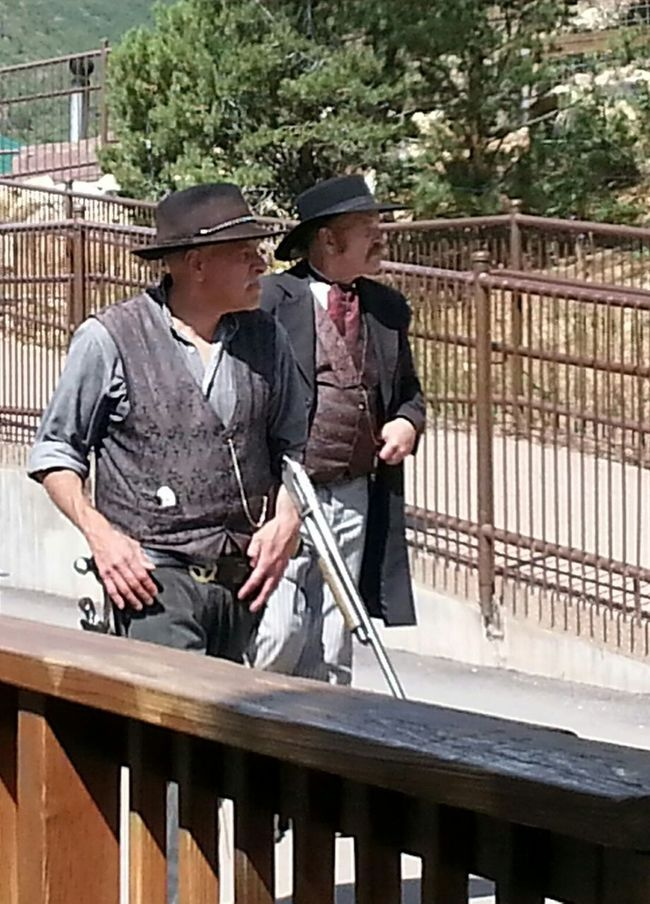 Local gunslingers Gunslinger  Street Portrait Candid Portraits