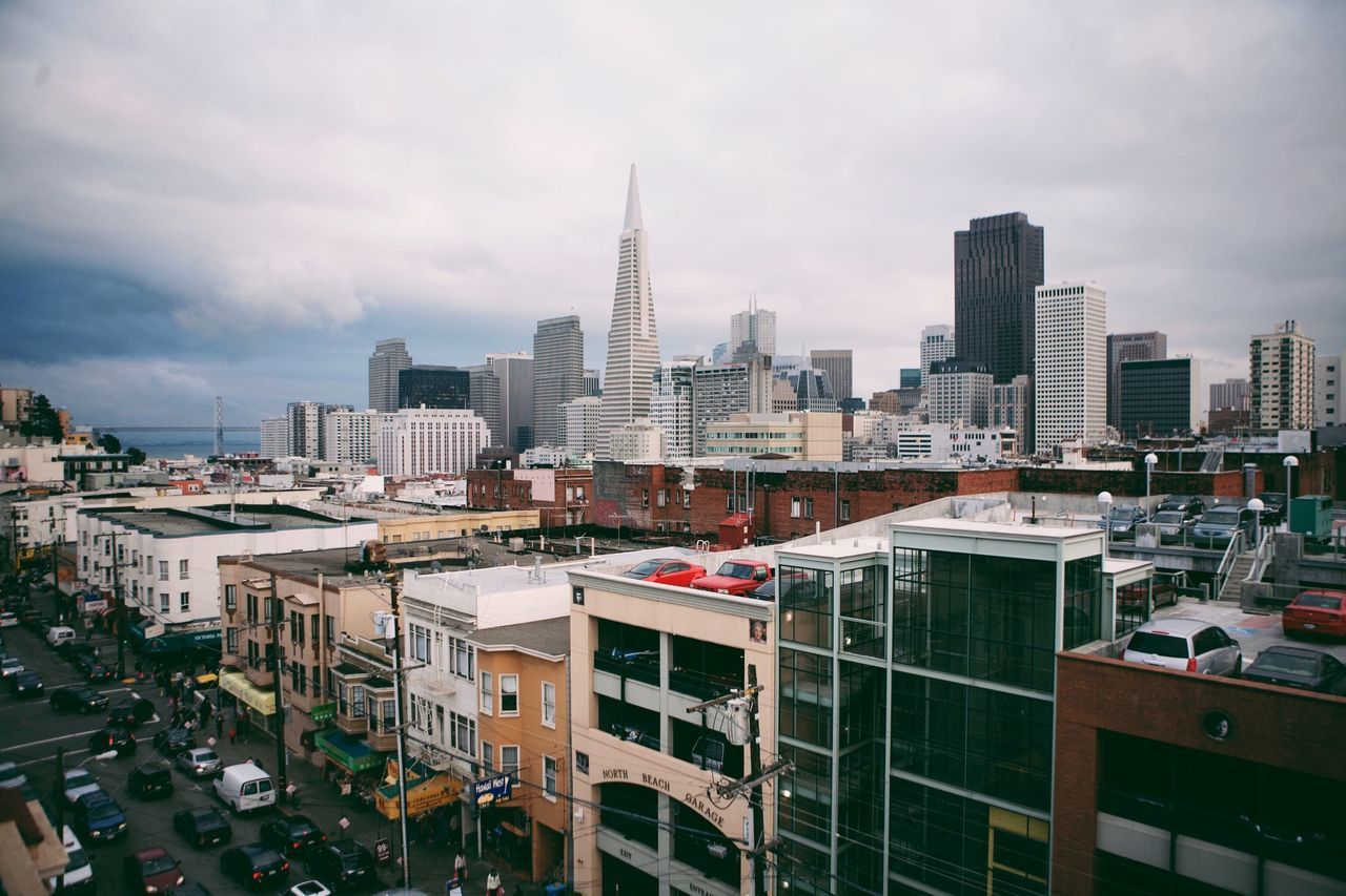 Travel Photography San Francisco Sky And Clouds Skyline Architecture Rooftop Street Photography Urban Exploration Visual Trends SS16 - Urbanity