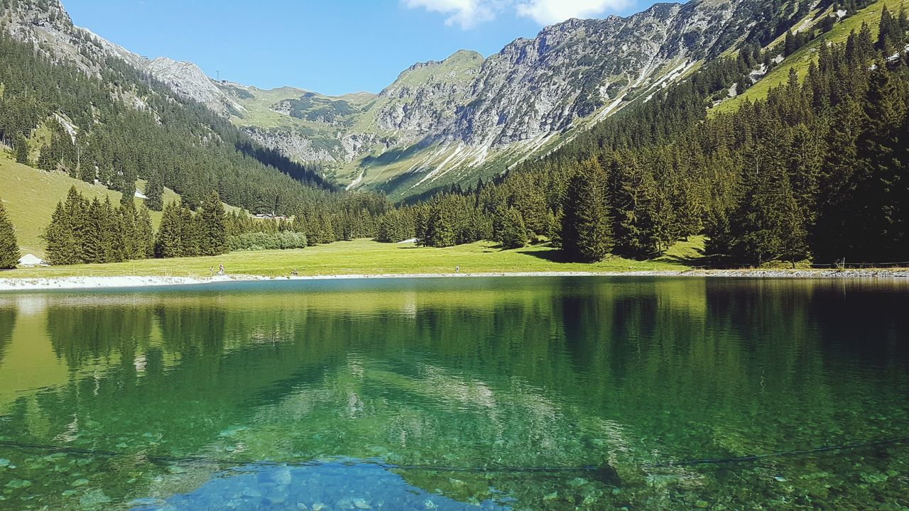 First Eyeem Photo Alpenpanorama Allgäu Seealpsee Nebelhorn Wandern In Den Alpen Freiheitsdrang Ruhe Und Stille