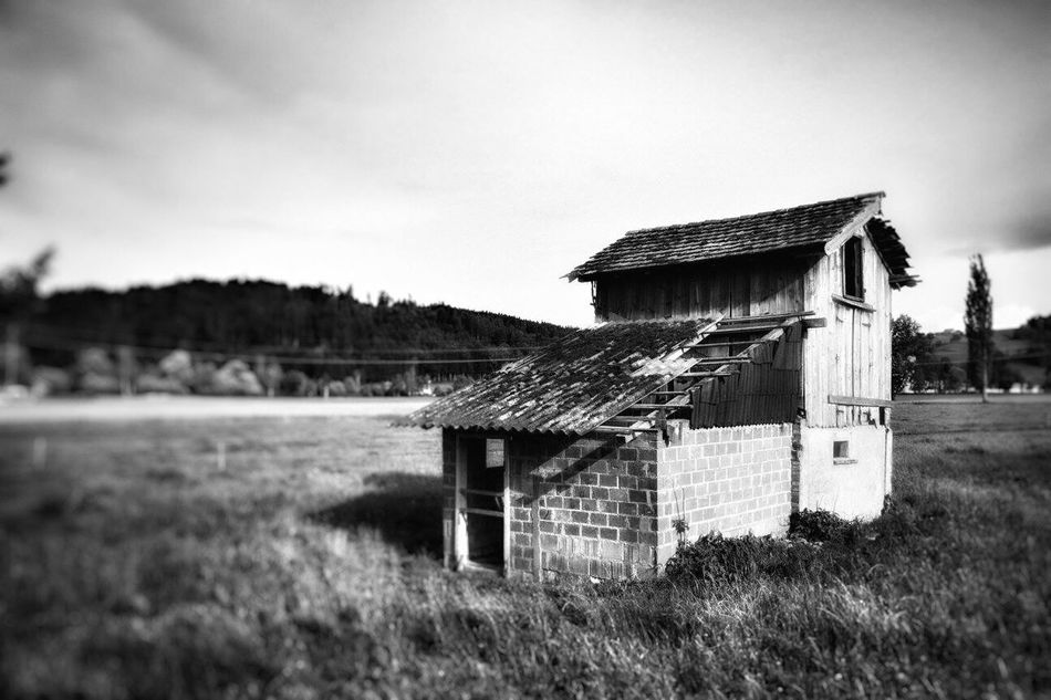 Barn Abandoned Abandoned Barn Blackandwhite Blackandwhite Photography Tadaa Community Clouds And Sky View Lost Places Switzerland Urban Exploration Urbex Canonphotography Sunny Day
