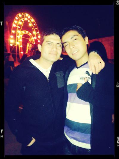 con mi pingui en fiesta de san lorenzo Fotos Con My Love