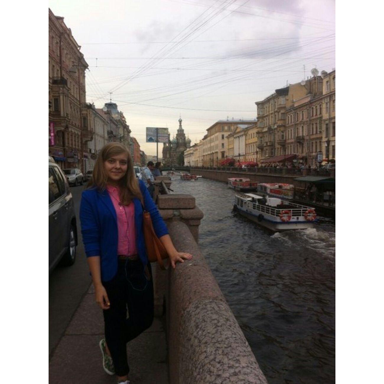 прогулка по невскому :)