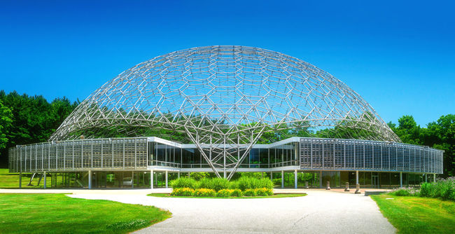 ASM International. The ASM International Headquarters and Geodesic Dome, at the Materials Park campus in Russell Township, Geauga County, Ohio, United States, are the headquarters of ASM International, a professional organization for materials scientists and engineers. Architectural Feature Architecture As ASM International Built Structure Geodesic Dome Grass Green Color Landscape Landscape_photography Lawn Modern Nature No People Outdoors Science Science And Technology Sky Travel Destinations