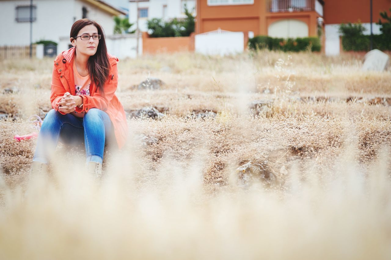 Beautiful stock photos of spain, Casual Clothing, Caucasian Ethnicity, Contemplation, Cájar
