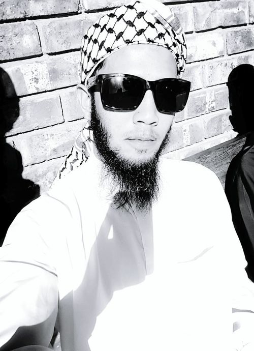 Muslim Turbanstyle Bearded Sunglasses Portrait Adults Only Adult Looking At Camera Close-up Outdoors Day One Man Only The Great Outdoors - 2017 EyeEm Awards Adult Inspiration Passion Happiness Lifestyles Port Elizabeth, South Africa 🇿🇦 South Africa The Portraitist - 2017 EyeEm Awards