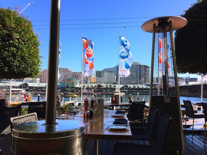 Taking Photos Travel Traveling Sydney Darling Harbour Waiting Lunch IPhoneography
