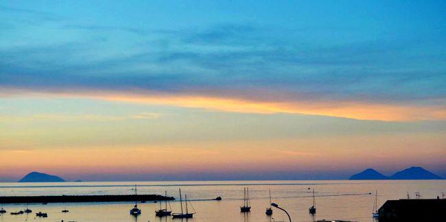 Sea Mare Barche Boat Boats Beach Sun Clouds Clouds And Sky Cloud Sea And Sky Sea View Sealife Watching Boats Water Watch Eolie Isoleeolie Sicily Sicilia Vulcano Lipari Alicudi Filicudi Porto