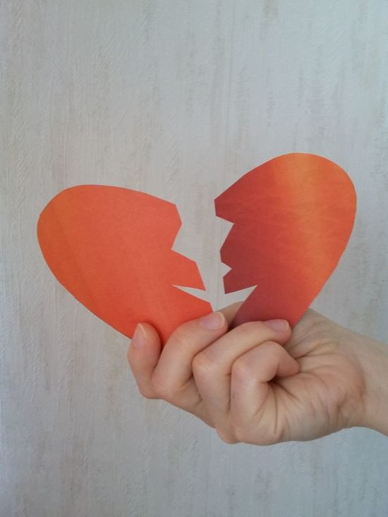 A broken heart. Broken Heart Sadness Lost Love Pieces Of Me Lonely Pieces Piece Of My Heart Still Life Separation Divorce