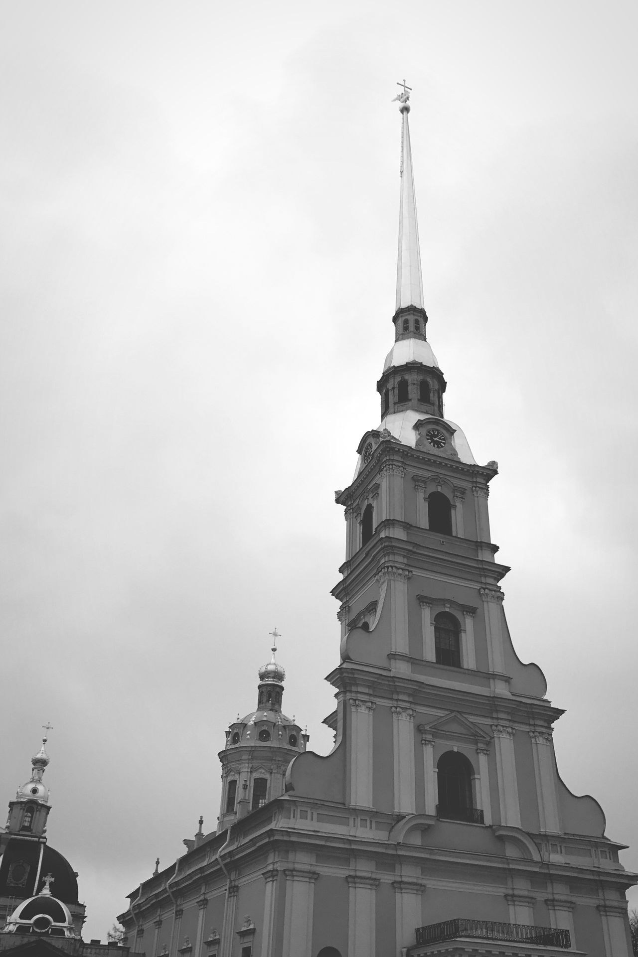 St. PETERSBURG Russia Peter-Pavel's Fortress Peter And Paul Cathedral History Architecture