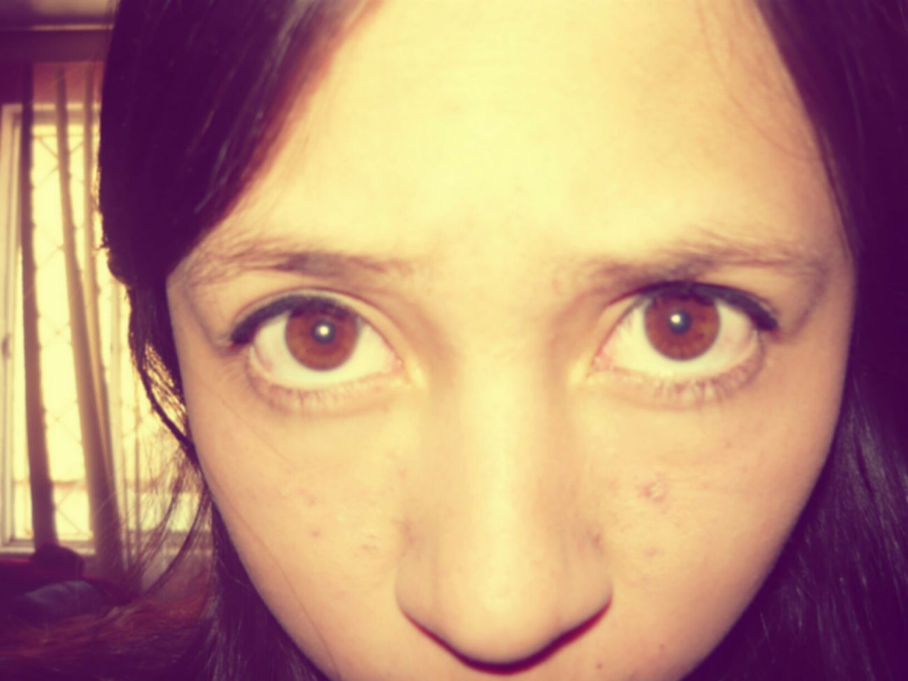 #beautiful #eyes #big #brown #<3