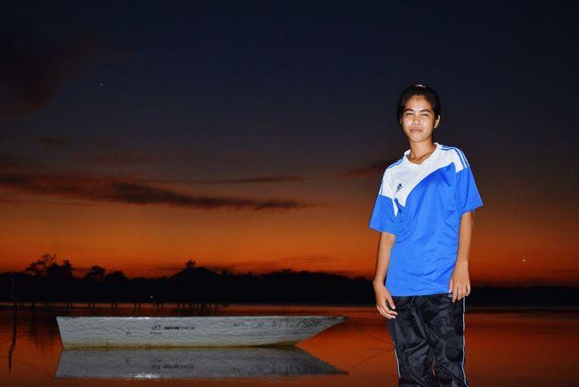Sunsetlover Nikoncamera Sumandak Enjoying Life Beach Beautiful Girl Beautiful Sunset Beautiful Place Niceplace Amazing Borneo Amazing Experience Pulau Banggi,kudat,sabah,borneo