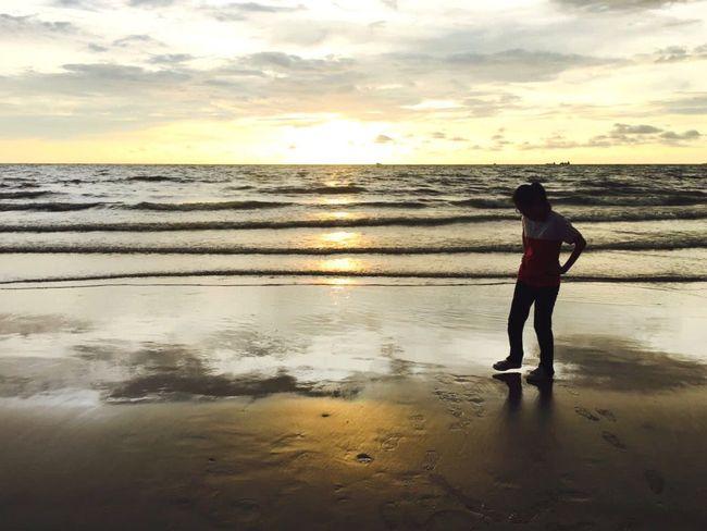 Sunset Sea Partofmylife MyGIRL