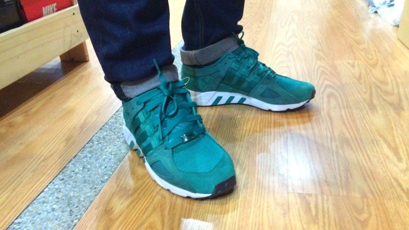 G R E E N Teamtrifoil Adidasoriginals Kotd Adidas Eqt Guidance Sneakerhead  Trefoilonmyfeet Kicksoftheday Sneakerholics