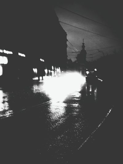 Moscow Moscowstreets Kitaygorod Solyanka Trolleybus Church Churches Moscow Churches The Street Photographer - 2015 EyeEm Awards Blackandwhite B&w Street Photography EyeEm Best Shots EyeEm Best Edits Monochrome EyeEm Night Shots Night Photography Learn & Shoot: After Dark Welcome To Black