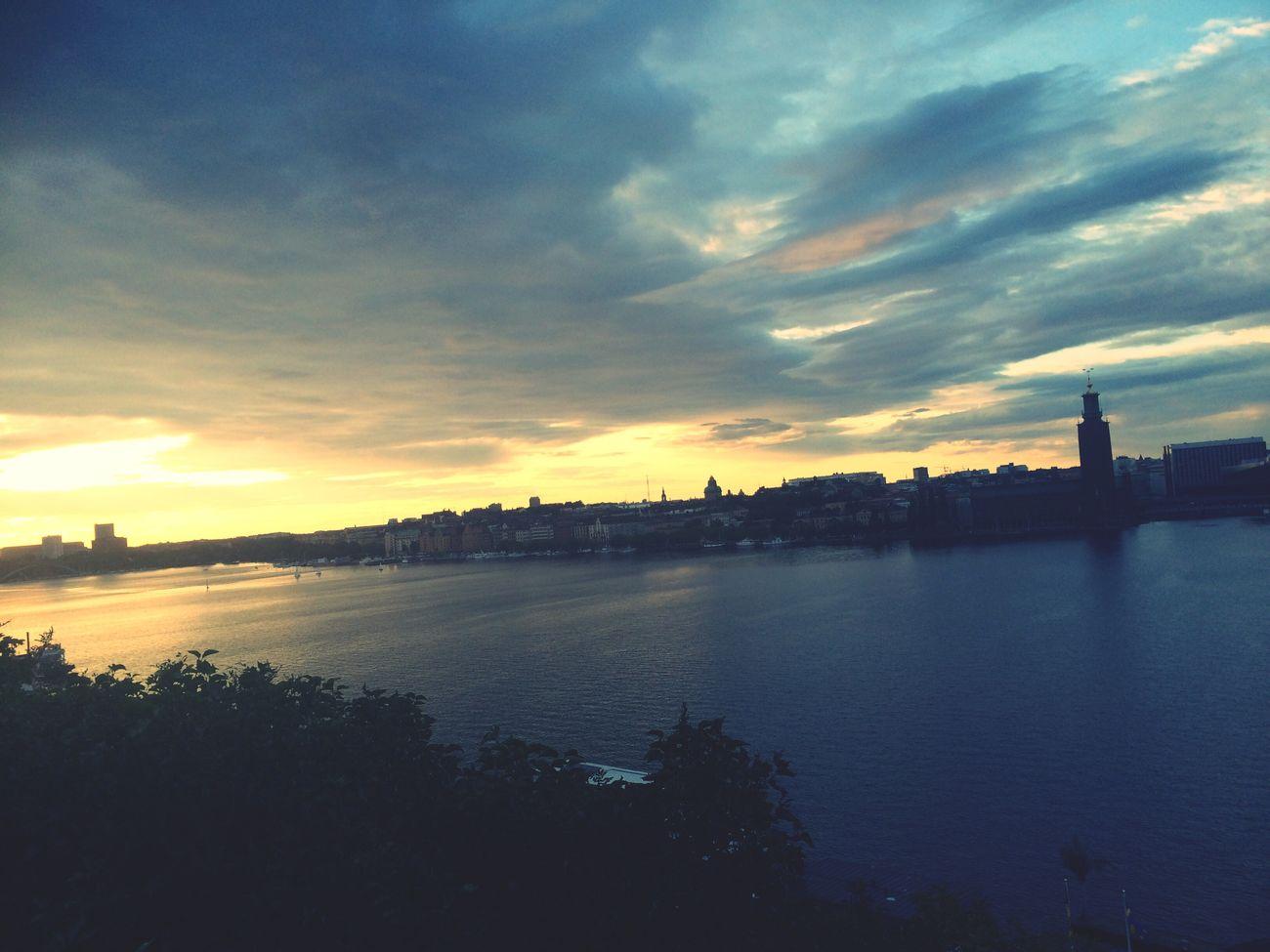 Stockholm, Sweden Stockhom Sun Set Relaxing