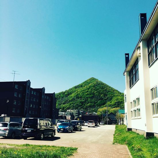 triangle mountain.