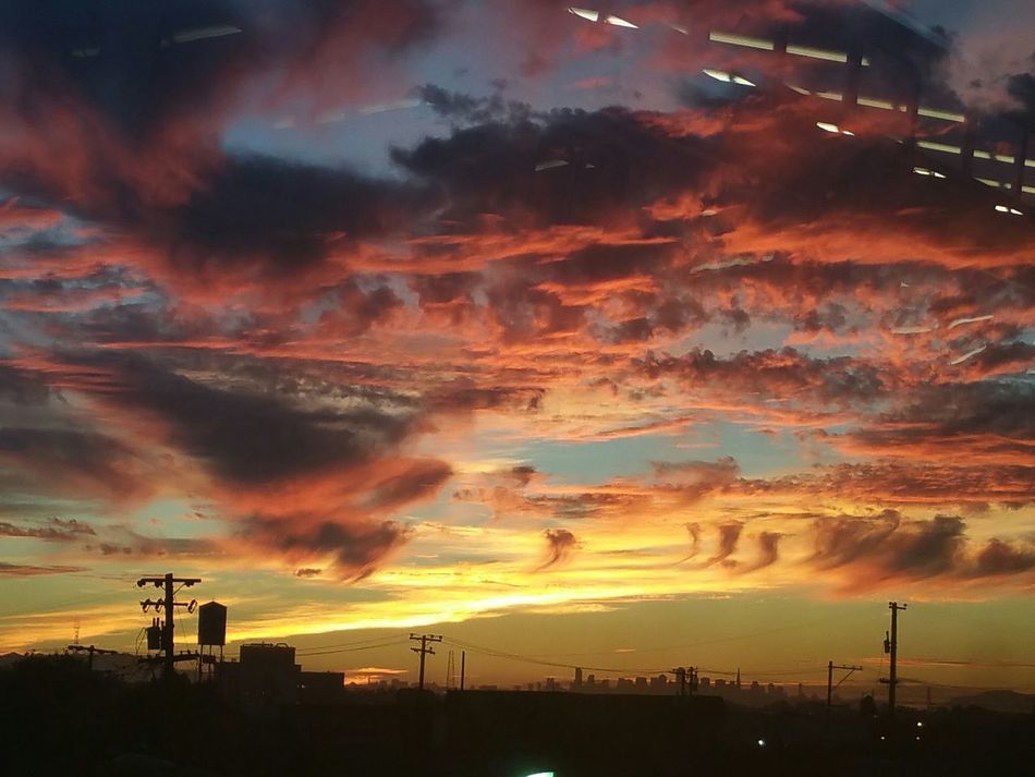 My Best Photo 2015 Original Photography Taking Photos Enjoying Life Fire In The Sky Sunset Clouds And Sky Sun And Clouds Rise Above Beautiful Nature