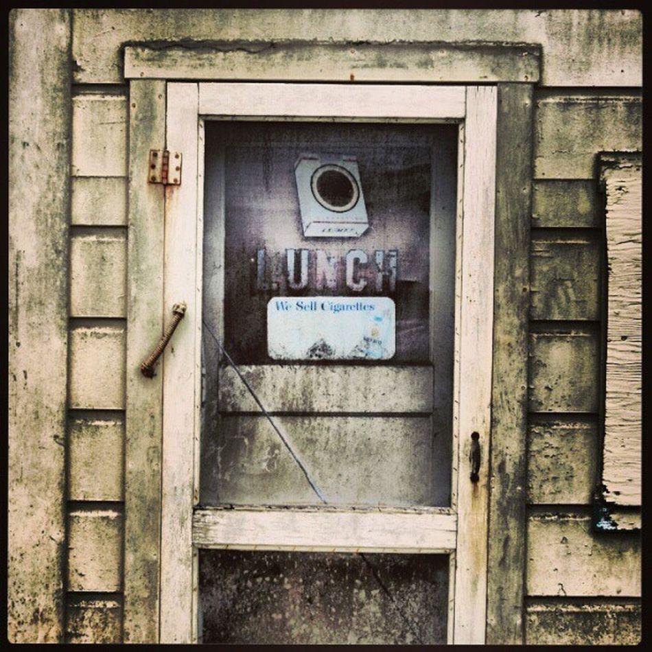 Lunch. #diner #abandoned #door #mildew #ruin #decay #Graton, CALIF Abandoned Door Decay Diner Ruin Mildew Graton