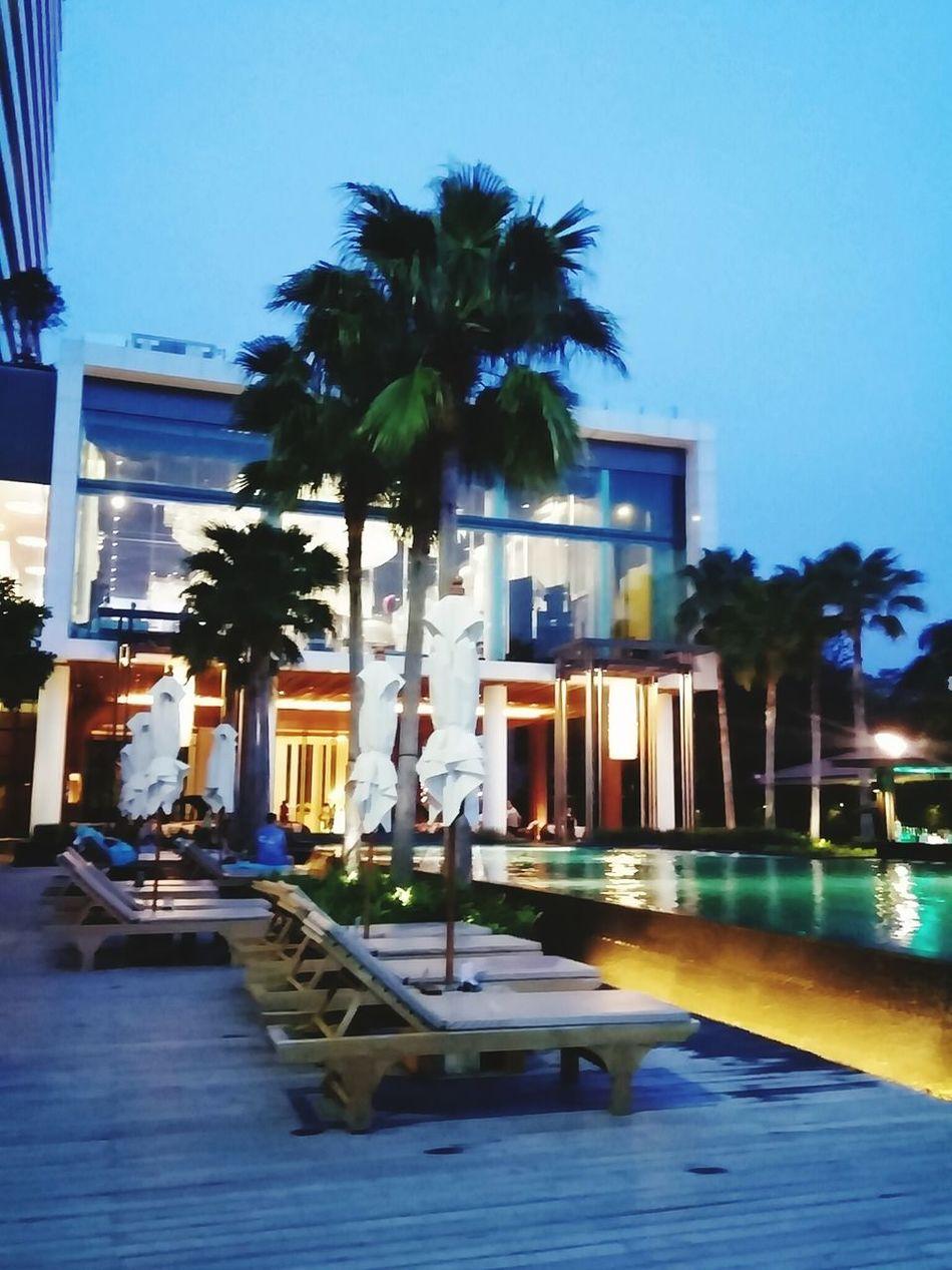 Pool capedara hotel beach pattaya