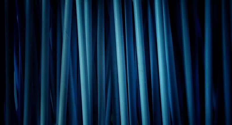 """""""Blue-tips"""" Abstract AntiM Backgrounds Blue Blue Close-up Curtain Dark Detail Full Frame Nature No People Q-tips Repetition Textile Colour Palette Pattern Pieces"""