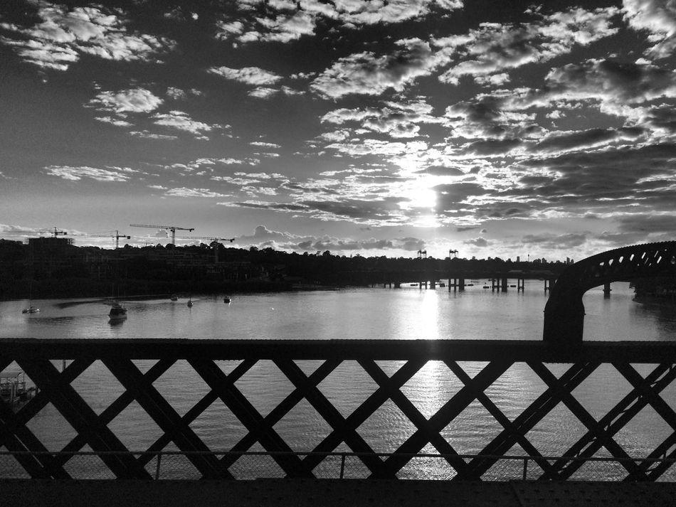 Thursday morning Shadows & Lights Monochrome Sunrise