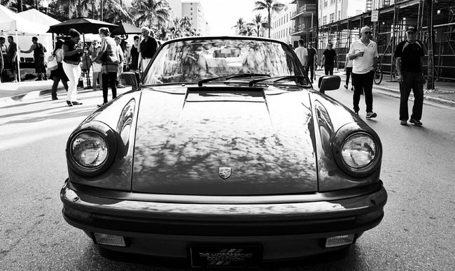 Driving in the sky #porsche #911 Porche Taking Photos Enjoying Life Hanging Out Check This Out Blackandwhite Black & White Miami Blanckandwhite Streetphoto B&w B&w Street Photography Streetphotomiami