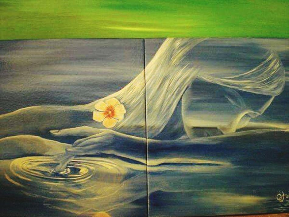 Hello World My Art Work Art, Drawing, Creativity Eyem Best Shots ArtWork Oil Paint My Art Diseño Y Creatividad Oil Painting Painting Florstone