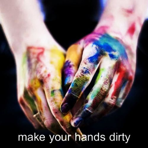 MaKe YouR HaNDS DiRTY ♥ ;) I LOVE TO PAINT ♥ ;) STAY PAINT !! ♥ ;) Art Artist Artists ArtWork Paint Painting Painter Colors Color WorkOfArt Followart Artistquote Artistsquote Creator  Create Creative Creativity Beautiful Love Artlove Artlover Hands Handsdirty Make Maker good words quote quoteoftheday repost El Art Se ;)