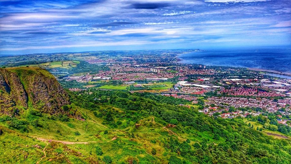 View on Belfast from Cavehill Adventure Club On The Way EyeEm Best Shots My Point Of View Enjoying Life Clouds And Sky Hiking Hills Travel Traveling Mountains And Sky Trip Mountain View Nature Northern Ireland Uk Travel Photography Nice Views Mountain Walking Hidden Gems  Showcase July