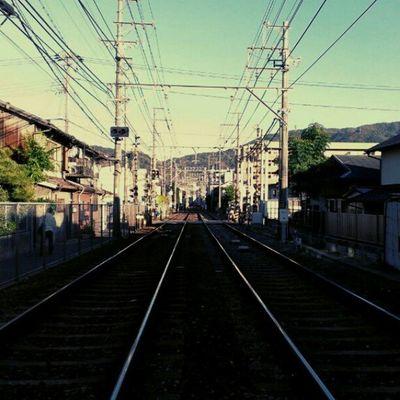 京津線 #railway #train #electricline Train Railway Electricline