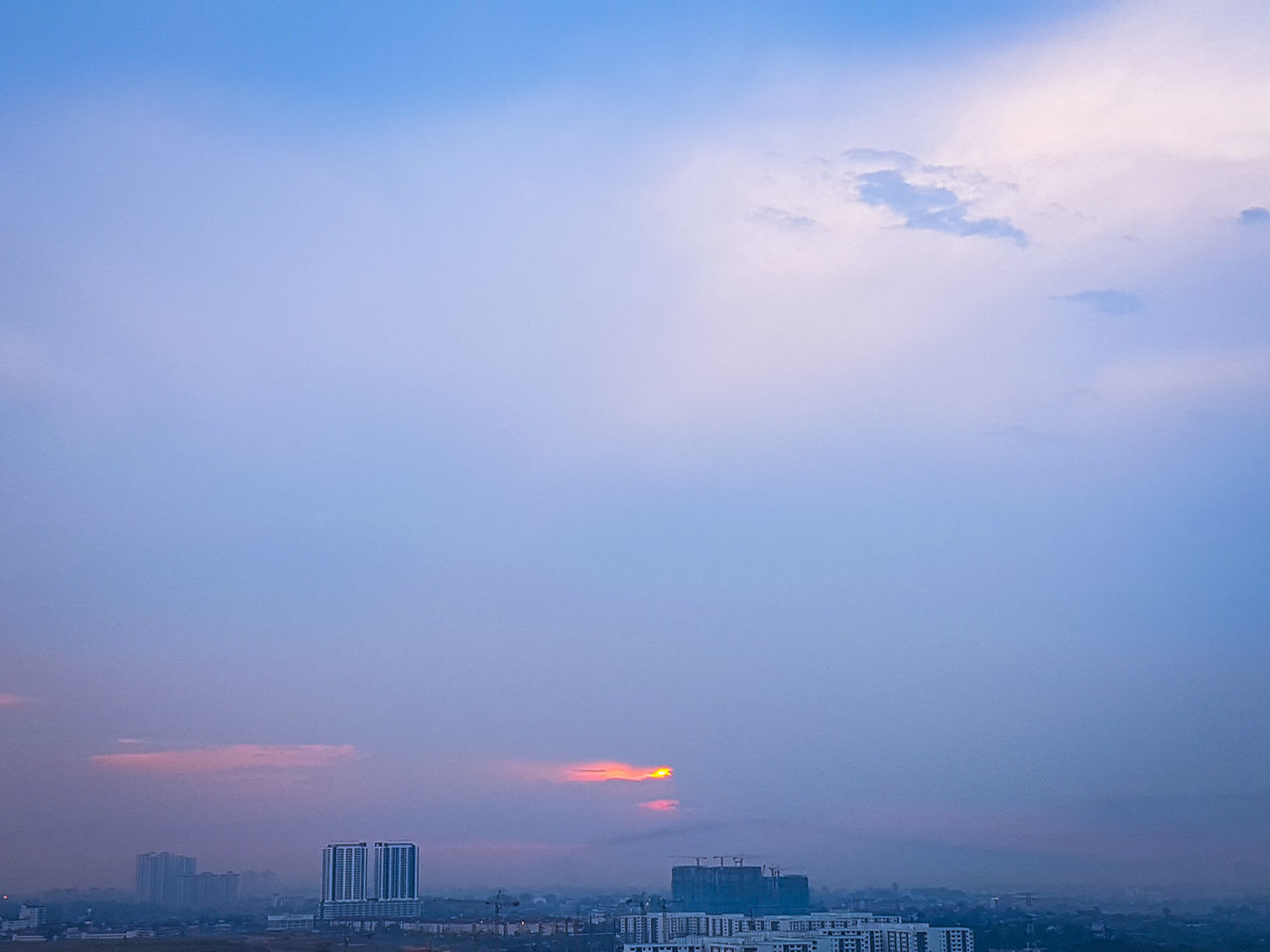 Urban Skyline Skyscraper City Cityscape Sky Environment Outdoors Architecture Cloud - Sky Travel Destinations Downtown District Building Exterior City Life Built Structure No People Sunset Night Illuminated Nature Nightlife Johor Bahru Malaysia