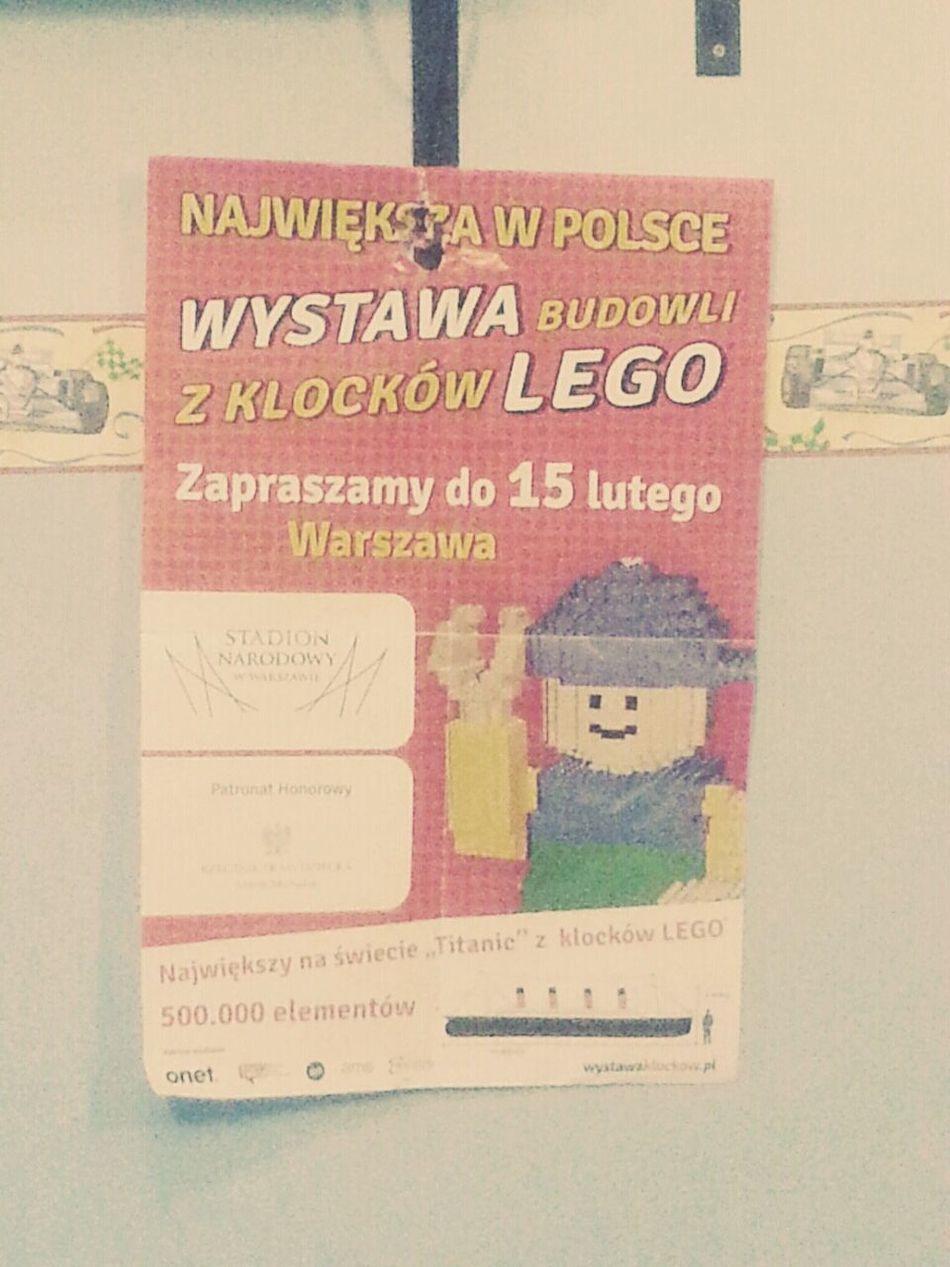 Klocki Lego Stadion Narodowy Wystawa
