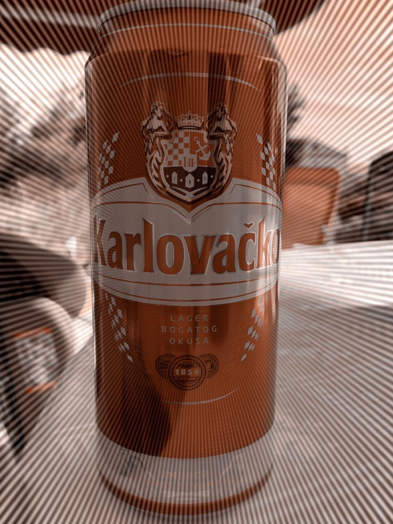 Beer Bier Karlovacko Hrvatska Croatia Zadar