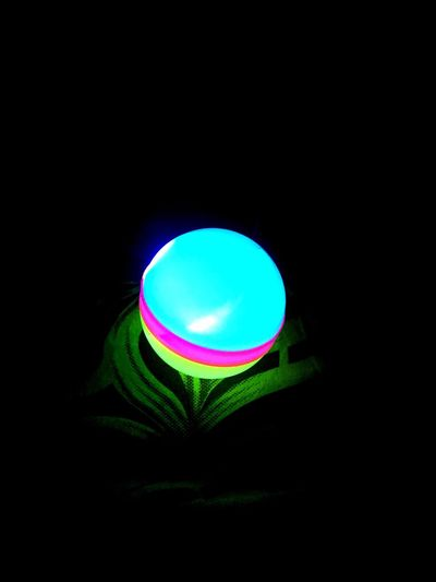Black Background Illuminated Indoors  Night Radiance Light In Darkness !!!