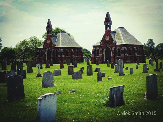 Donna Nook Graveyard Grave Gothic