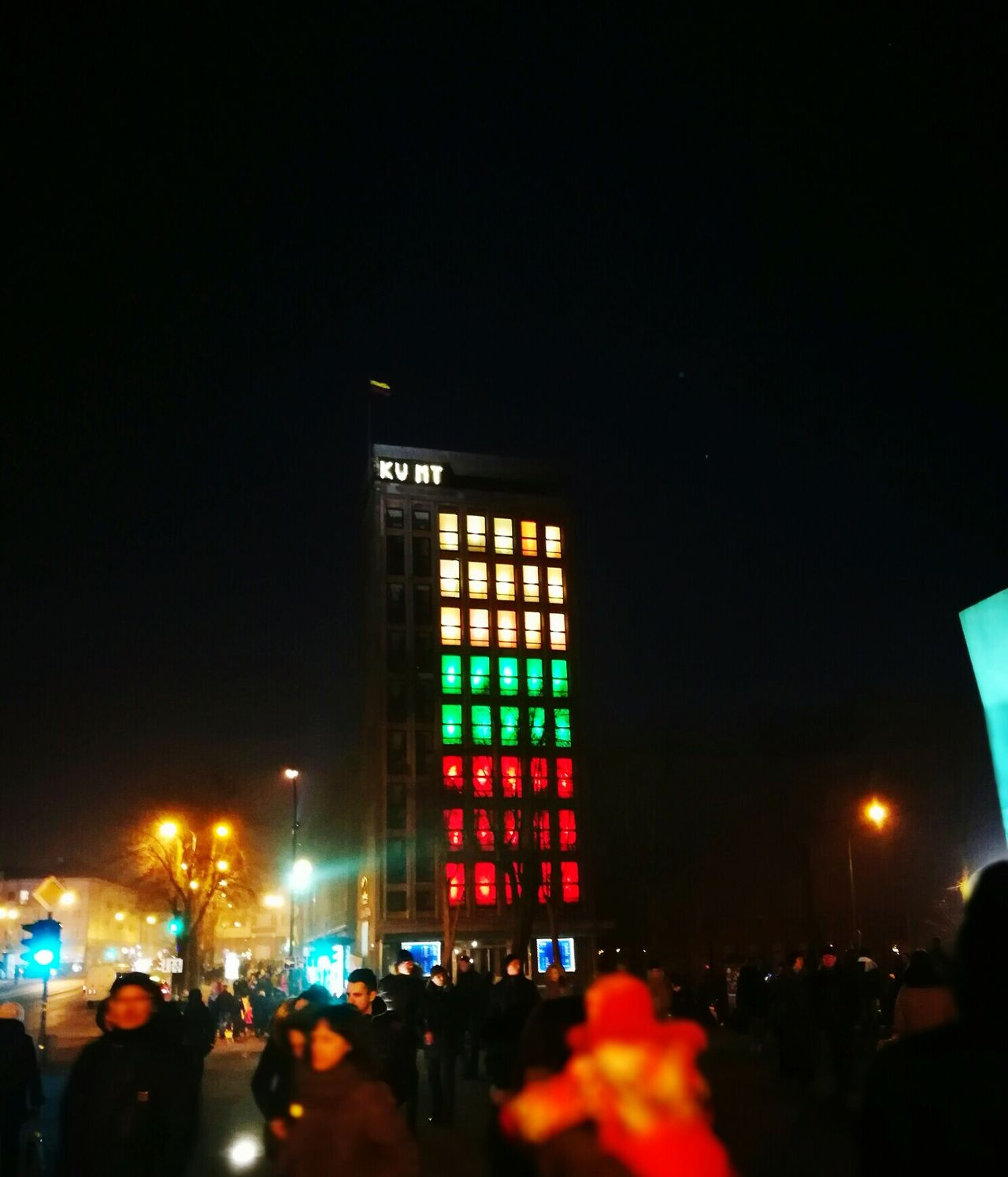 Lithuania Independence Day City Celebration