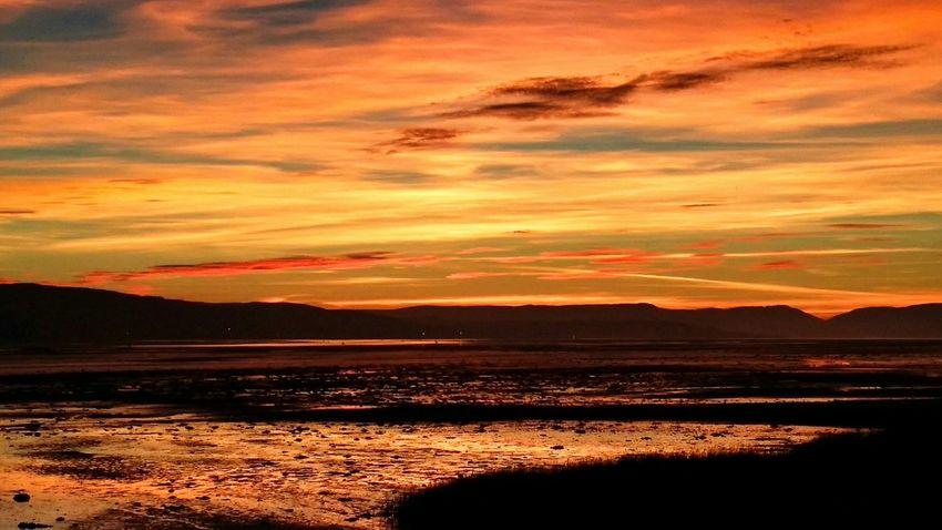Dumbarton Shore Sunset_collection Sunset Sunrise_sunsets_aroundworld Sunset Silhouettes Sun Rays Scottish Scotland Scenery Shots Scenic View