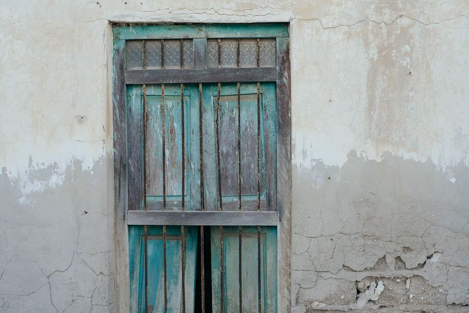 Architecture Building Exterior Built Structure Door Wood - Material Outdoors No People Day Close-up United Arab Emirates Abandoned Ghost Town Doors Doorway