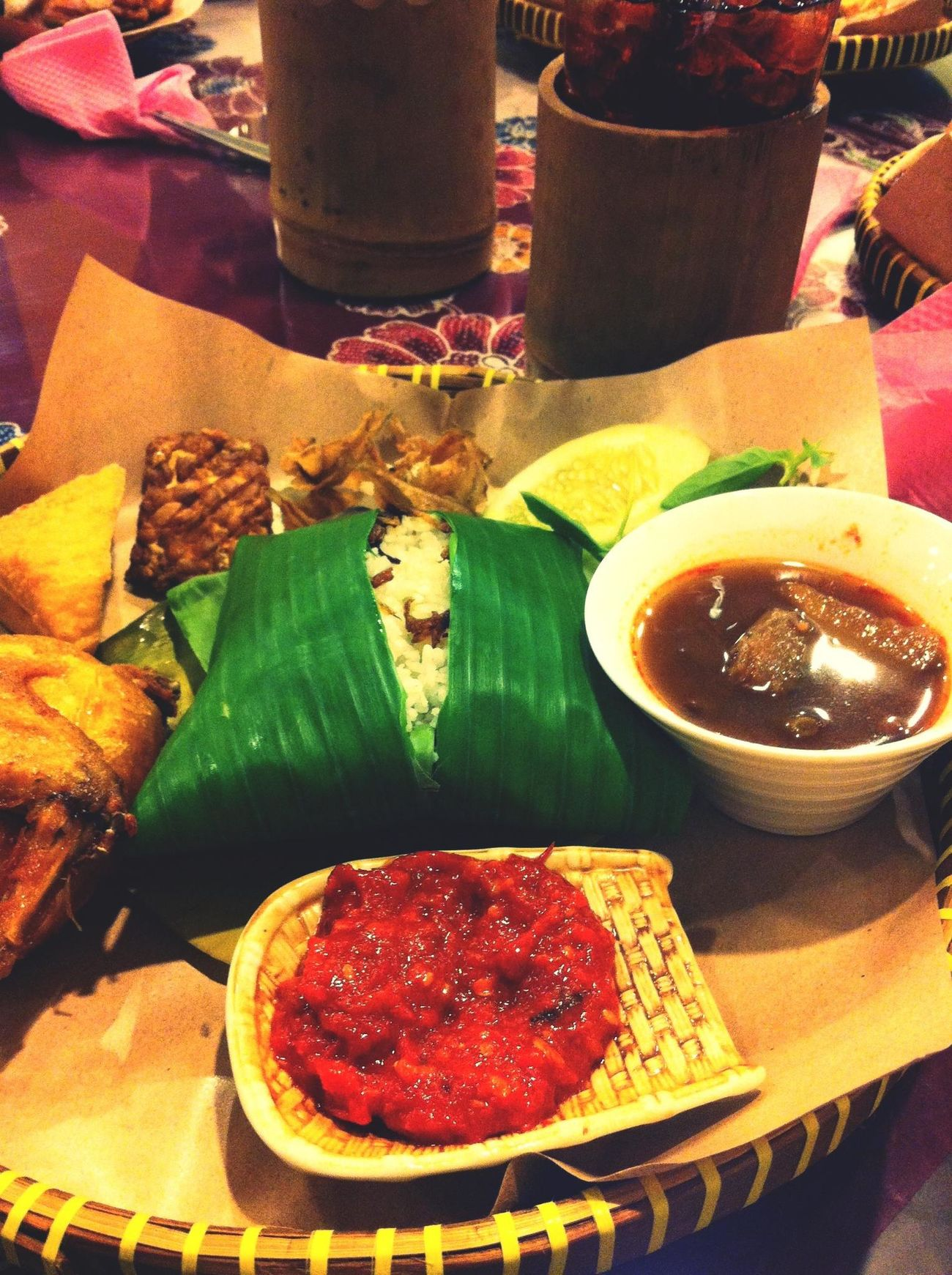 indonesian food at pondok malindo. :)