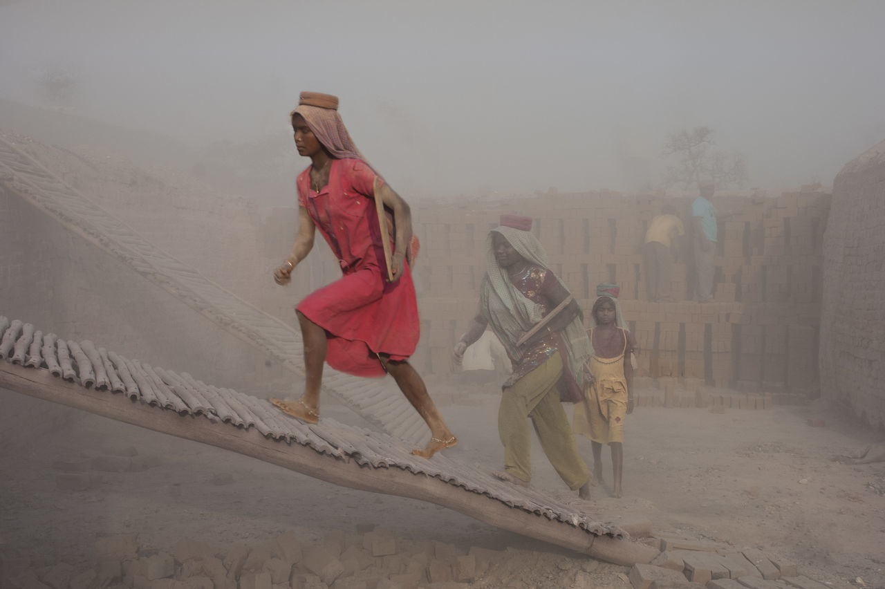 A hazardous occupation Brickkiln Workers Child Labor  Dusty Hazardous Conditions Labor Life In Motion Occupation People And Places Women At Work