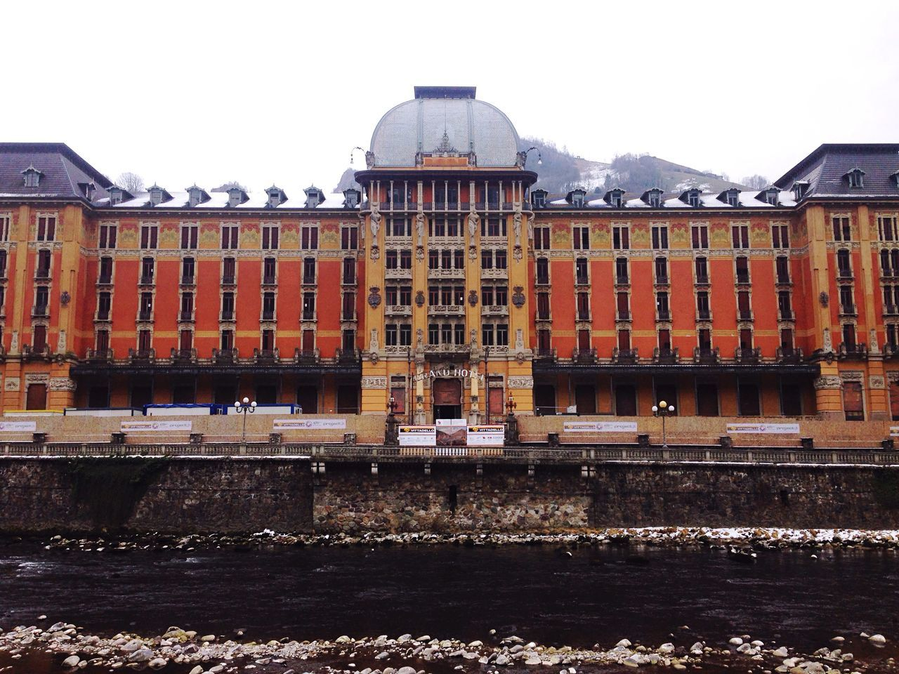 Architecture Building Exterior Built Structure City Outdoors No People Day Sky Water San Pellegrino Grand Hotel Abandoned Buildings