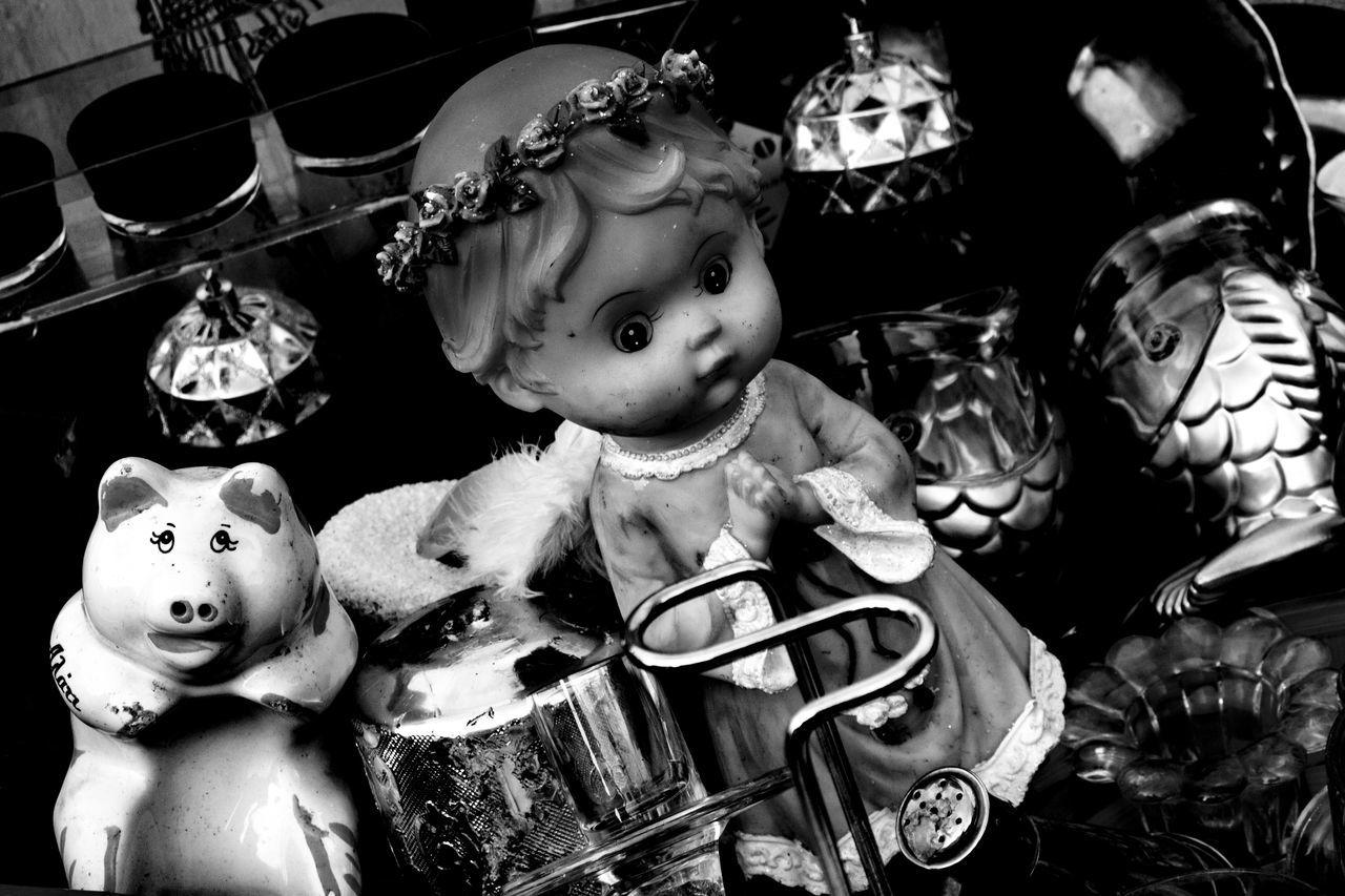 Automn Colors Black & White Black And White Blackandwhite Blackandwhite Photography Childhood Doll Fleemarket Manequin Outdoors Sadness Toy Toys Urban Urban Exploration Urbanphotography