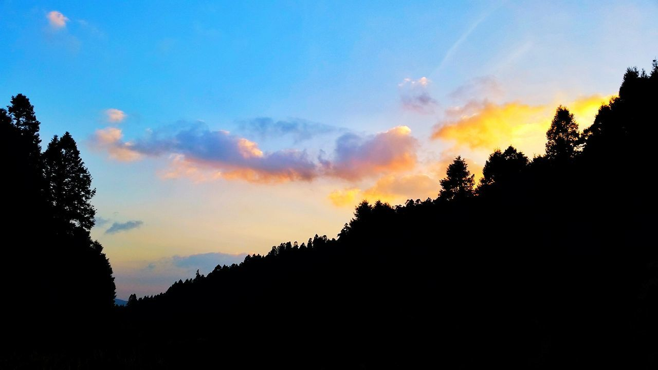 Sunset Sky Silhouette Cloud - Sky Beauty In Nature Girls Beautiful Portrait Girl Mexico That's Me Today's Hot Look First Eyeem Photo EyeEm Best Shots Shadow And Light EyeEm Gallery Faces Of EyeEm Tourism Cdmx2016 Sunlight Nature Astronomy Illuminated Trees And Nature Hills And Valleys