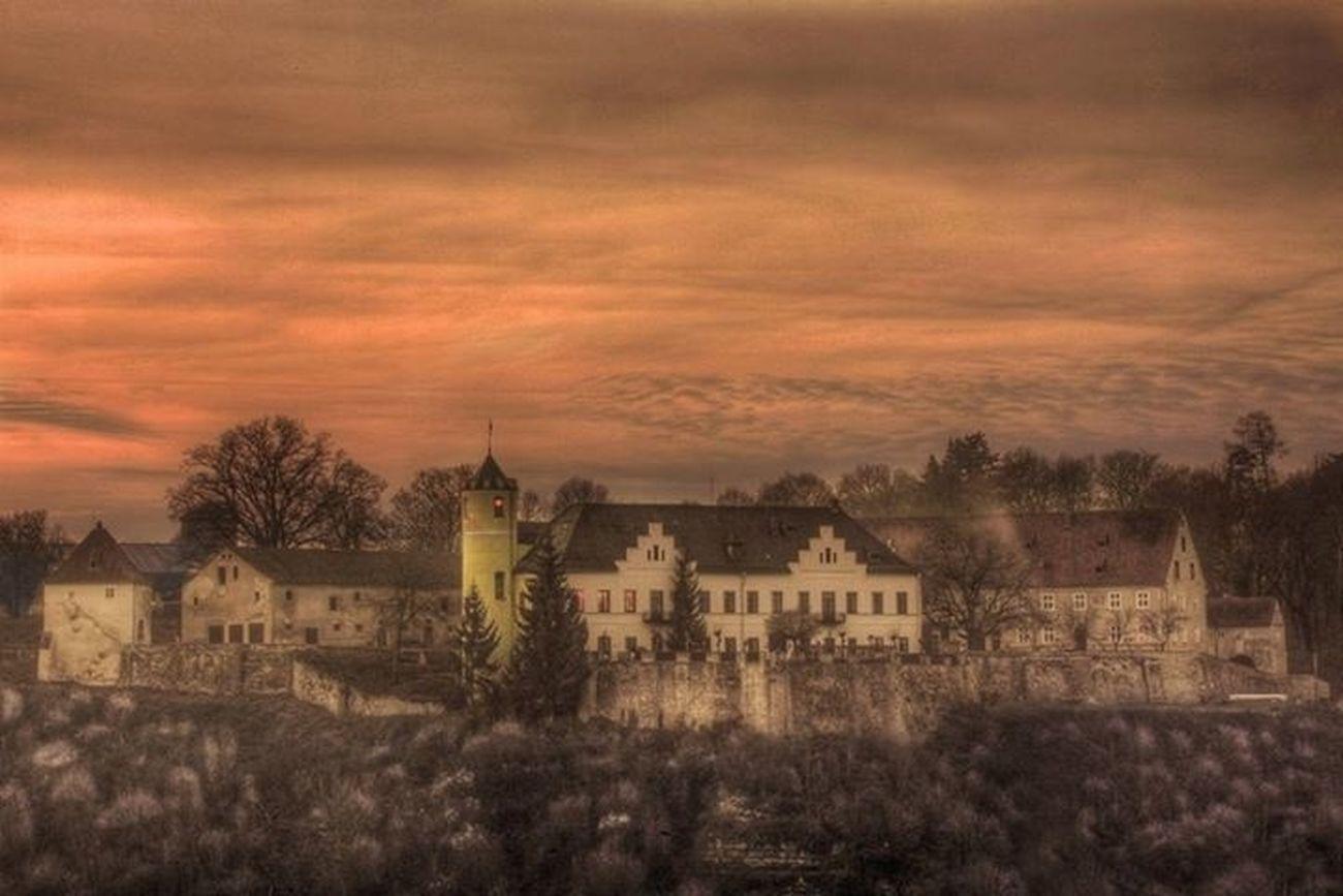 Waan je in de middeleeuwen in een echt kasteel. Sprookjes bestaan. Holiday Romantic Getaway Taking A Break
