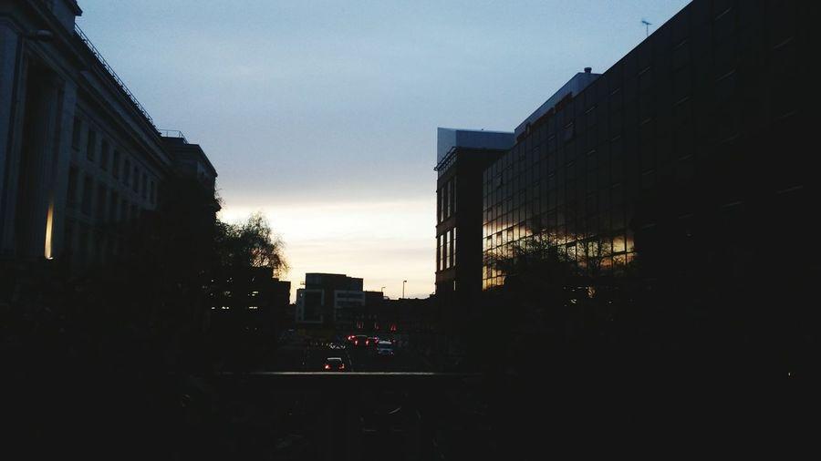 Summer's almost here! Reflection Brumset Sunset Citylife Birmingham Windows