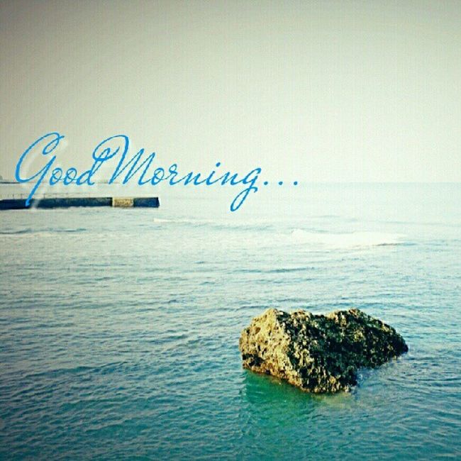 Pemandangan pagi ini... Morning Anyer  Beach Holiday Vacation