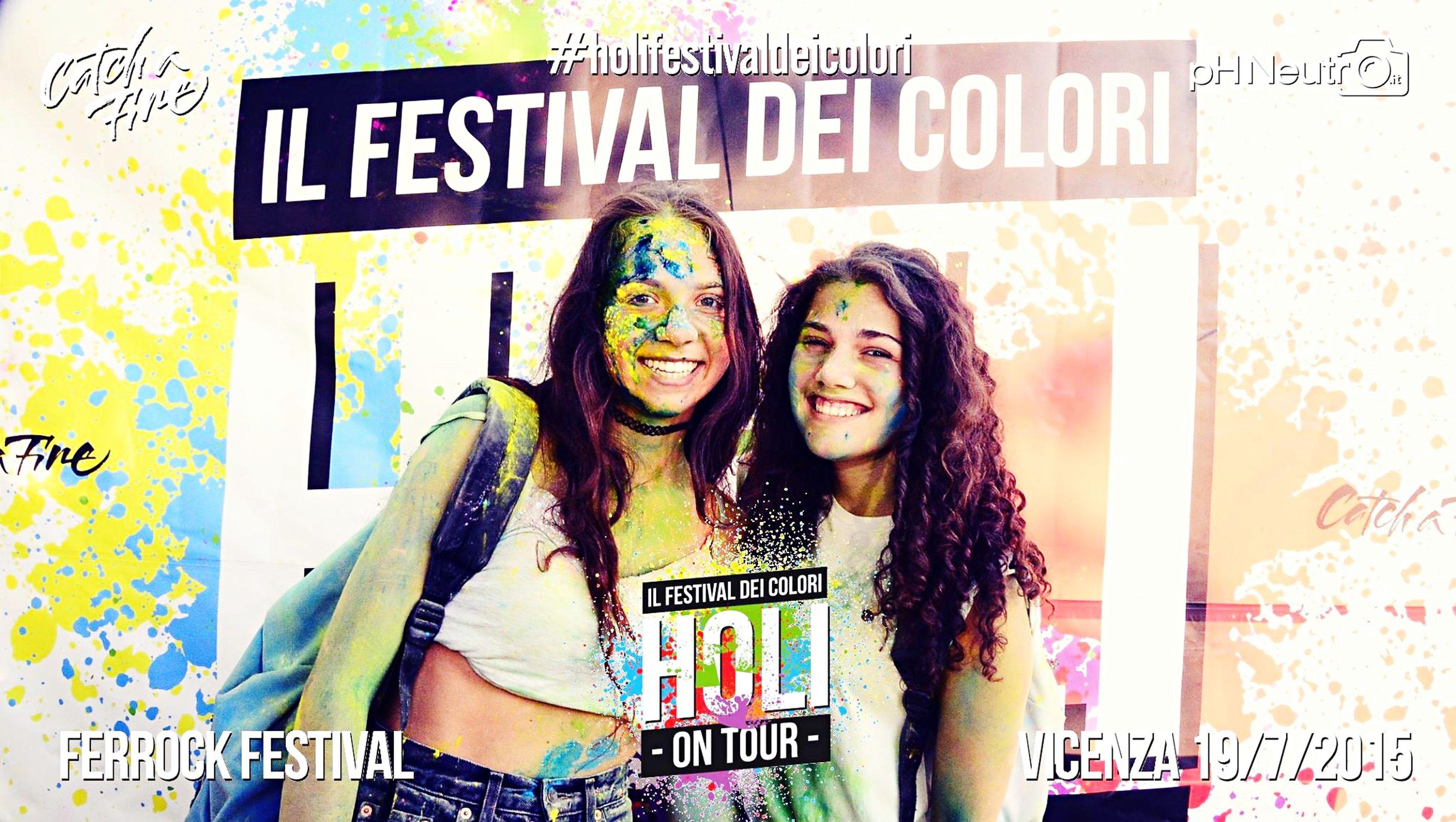 Holi festival dei colori Holi Holi Festival Ferrock Smile Happiness Best Friends Colours