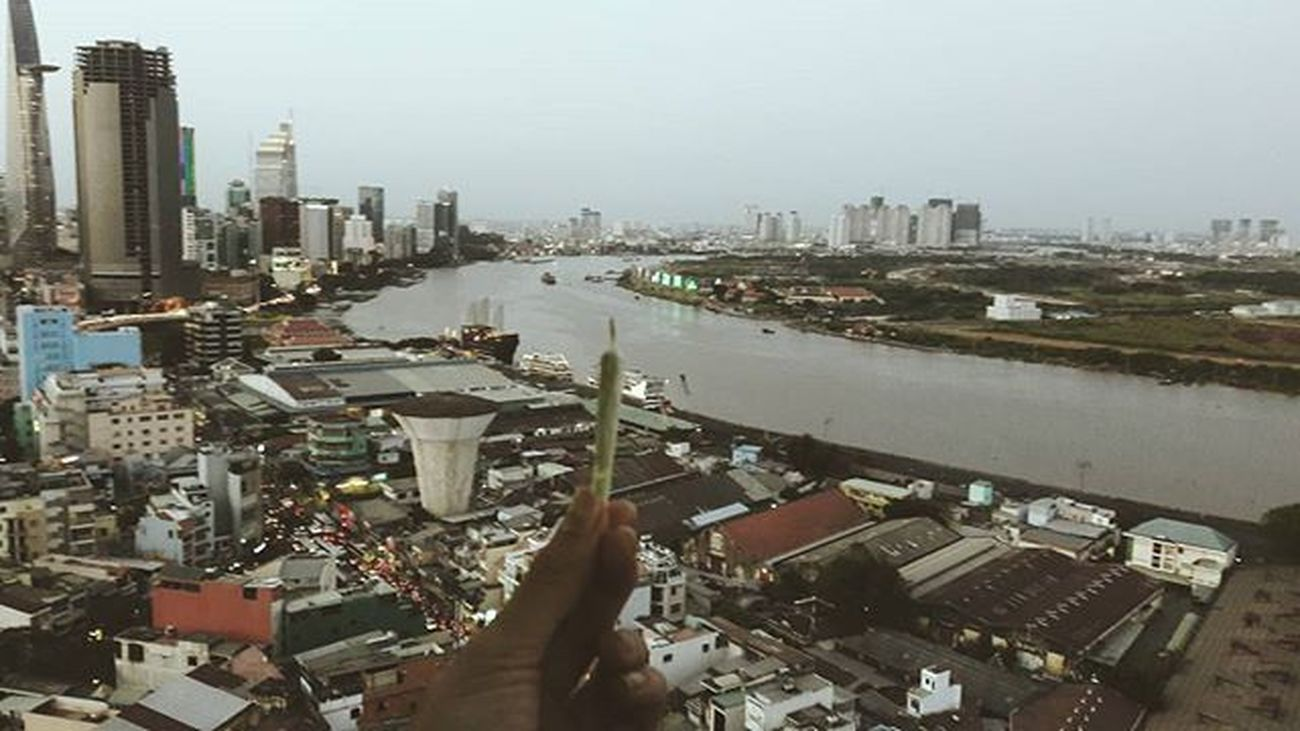 Chiều tâm trạng ... Saigon SaigonRiver Bitexco