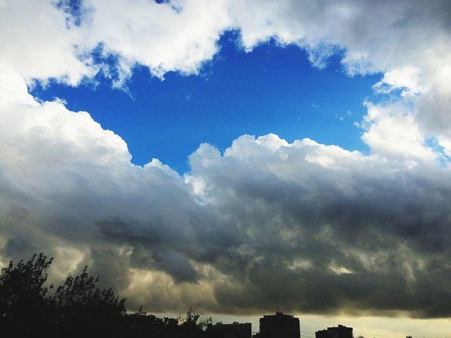 Ciudad Santiago De Chile Cielo Y Nubes  Smog Esperanza Atardecer First Eyeem Photo TakeoverContrast